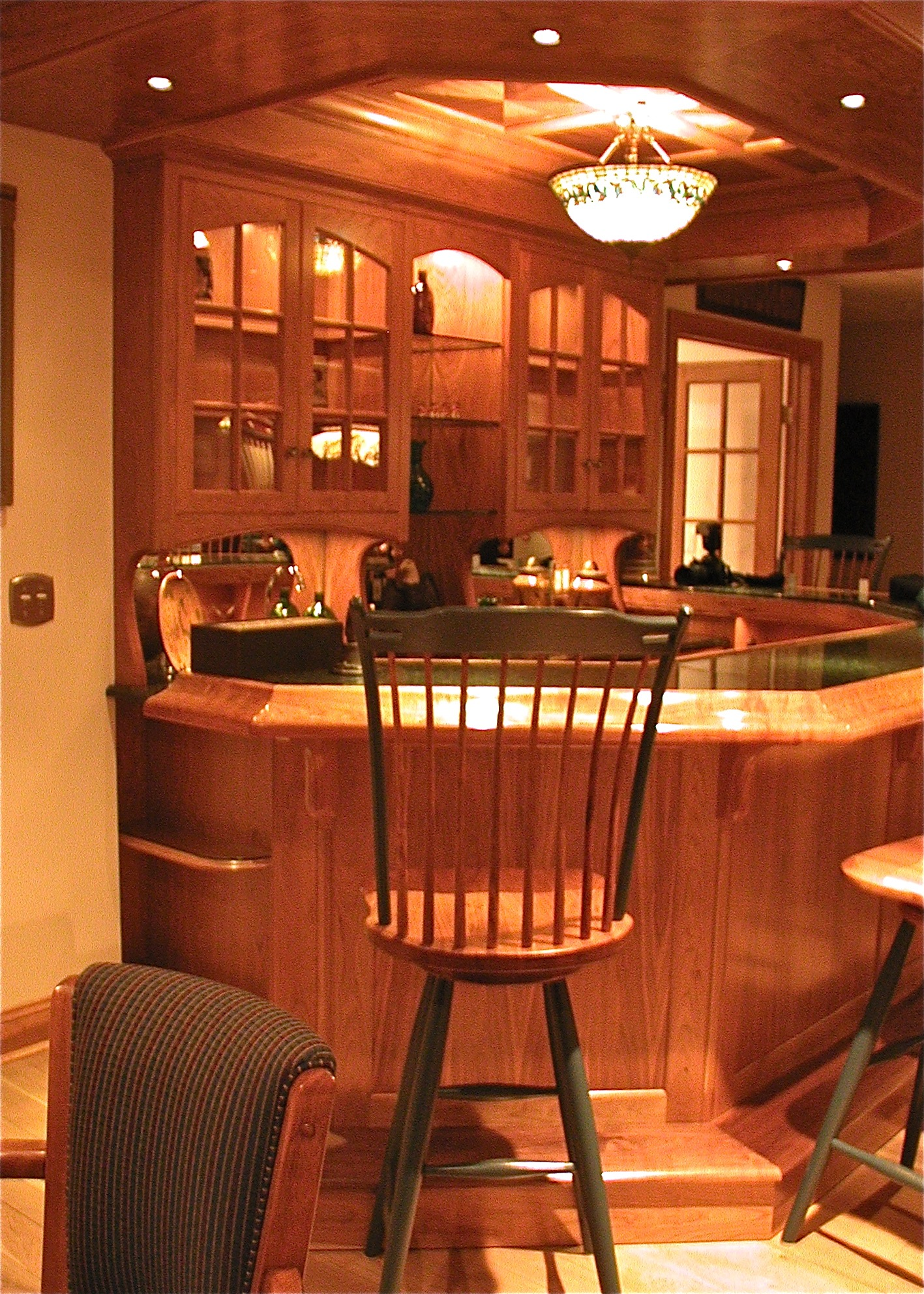 If custom cabinetry is what you seek, we offer custom cabinetry and much more of high quality craftsmanship.